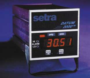 Setra Systems, Inc. - Datum 2000 (Dual Channel Meter)